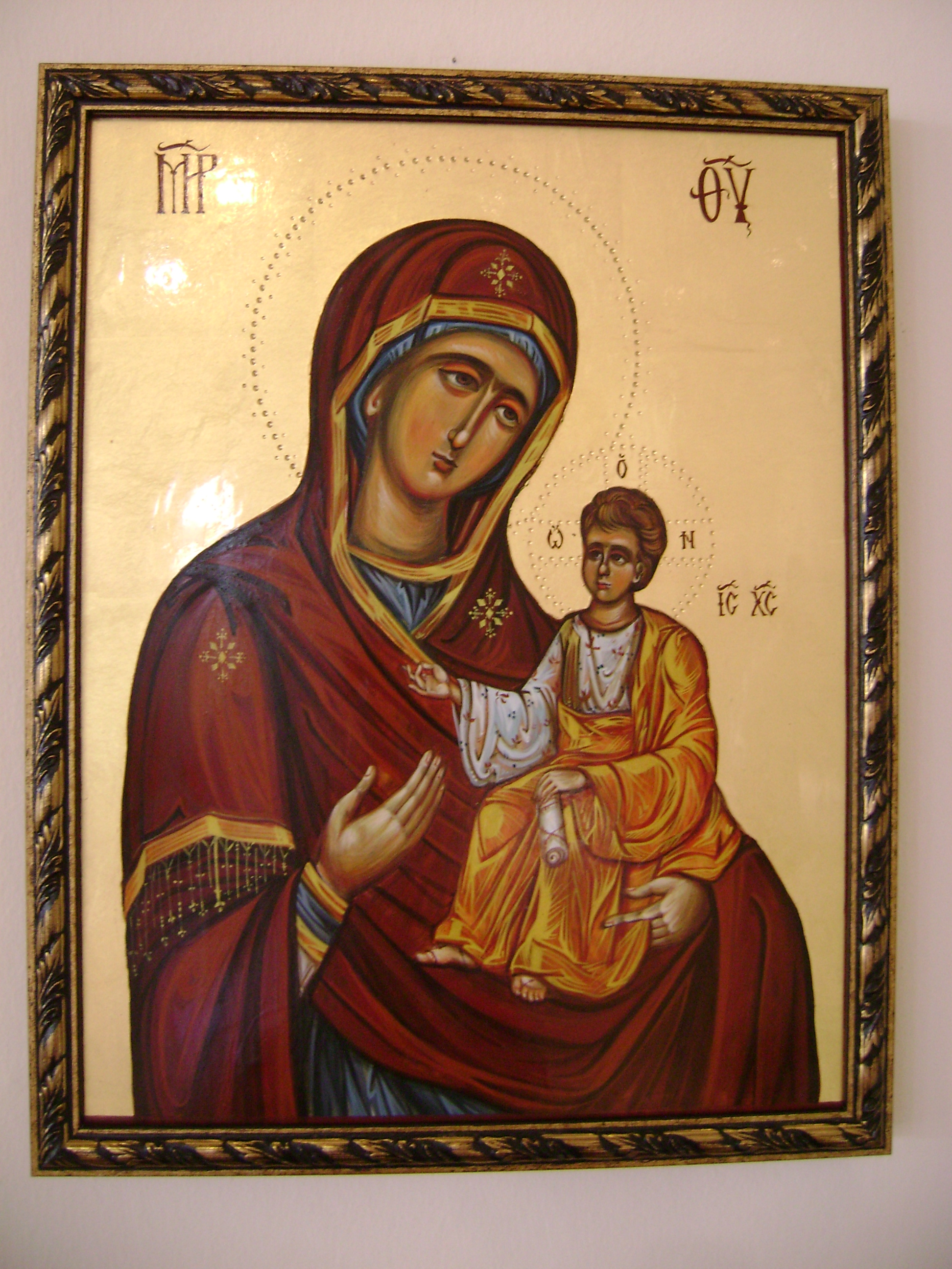 The Mother of God 30x40